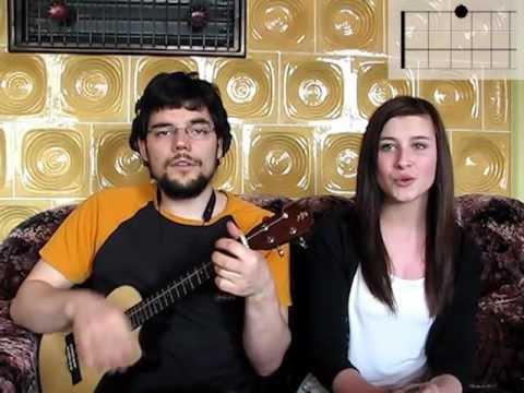 "How to play ""Jason Mraz ft. Colbie Caillat - Lucky""  on ukulele"