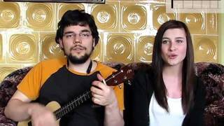 "How to play ""Jason Mraz ft. Colbie Caillat - Lucky""  on ukulele"