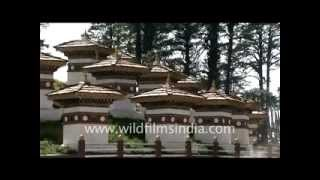 Thimphu and Dochula pass, Bhutan