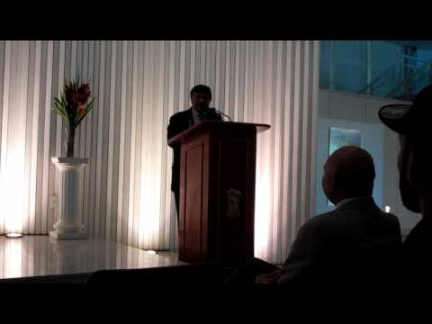 "Jawhar Sircar ""5000 Year of Indian Culture""  -  Indian Embassy in Brasilia"