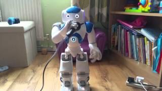Nao robot beatboxing 2016