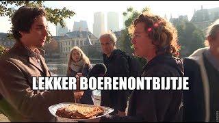 Zo bedanken brakke boeren Nederland na weken van protest