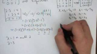 1-Arithmetic-11- Eigenvalues and Eigenvectors (a 3 by 3 example)