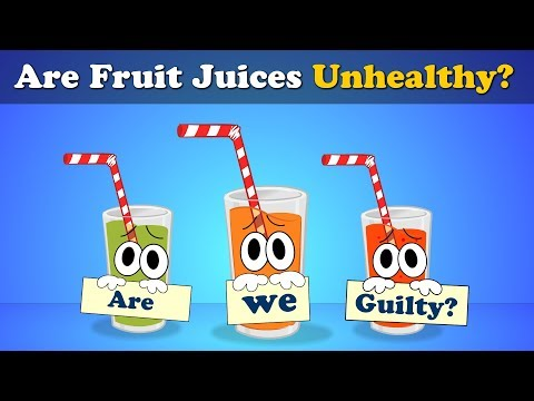 Should we drink Fruit Juices? | #aumsum #kids #science #education #children