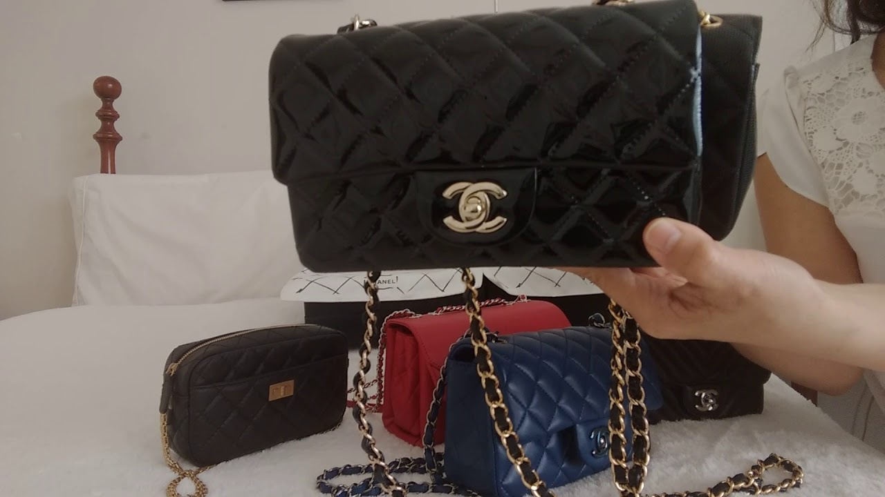 4a64014d0750 Chanel MINI FLAP Bag Collection 2018  What to know  - YouTube