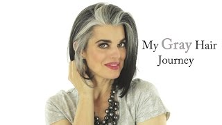 My Gray Hair Journey | Nikol Johnson