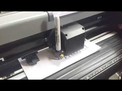 US Cutter Refine MH721 Vinyl Cutter with Flexisign 10 on