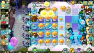 Plants vs Zombies 2 - Neon Mixtape Tour Greatest Hits Level 25 to 26