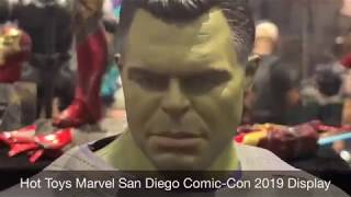 Hot Toys Marvel SDCC 2019 Display! Avengers Endgame, Infinity War, Iron Man & More!!!