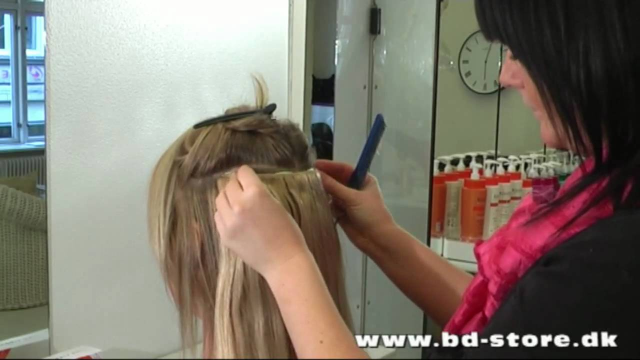 hårclips til extensions
