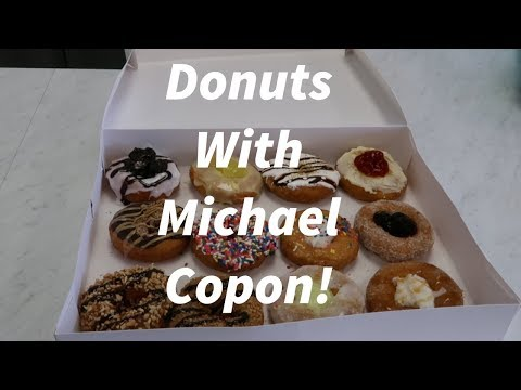 Donuts With Michael Copon!