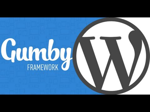 Responsive WordPress using Gumby FrameWork
