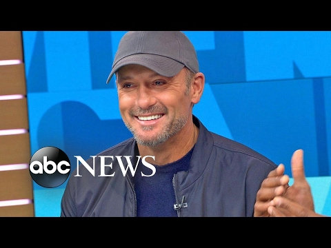 Tim McGraw discusses 'The Shack' live on 'GMA'