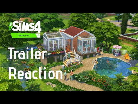 The Sims 4 Tiny Living Stuff Trailer Reaction |