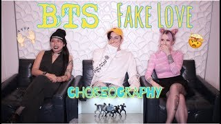 Gambar cover BTS (방탄소년단) 'FAKE LOVE' Dance Practice REACTION l RM INVENTED SHORTS l