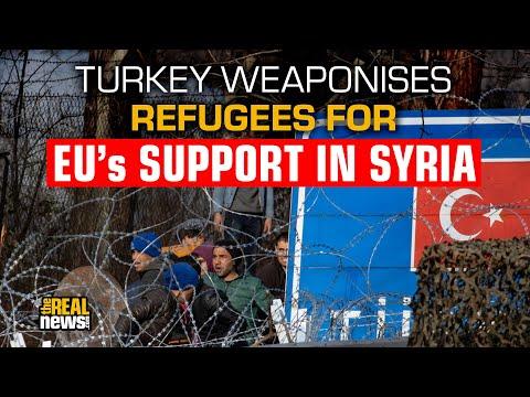 Turkey Weaponizing Refugees as Idlib Fight Escalates