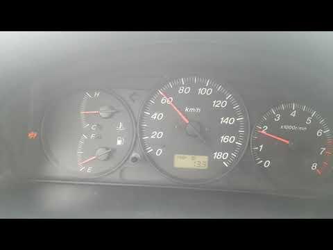 Mazda demio dw3w 2000 год мкпп КАК едет механика обороты скорость.