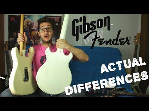 Thumbnail: Fender vs Gibson - 5 Differences that Actually Matter