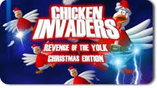 Chicken Invaders 3 Christmas - All Bosses + ENDING