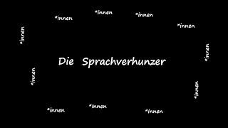 Die Sprachverhunzer (Ach, unsere schöne deutsche Sprache) - Christoph Holzhöfer