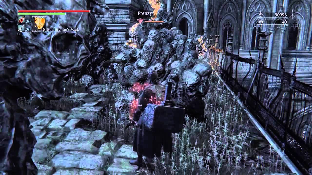 Bloodborne Winter Lantern Singing 40 Insight Youtube