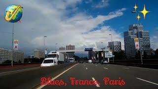 Beautiful Blues, France, Paris Road