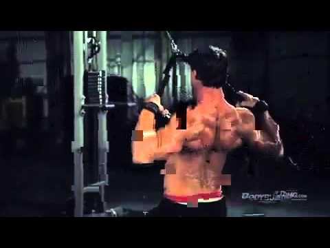 Greg Plitt's MFT28 Day 2, Back workout