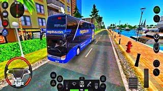 Setra Megabus Skin | Bus Simulator Ultimate New Update Android Gameplay screenshot 2