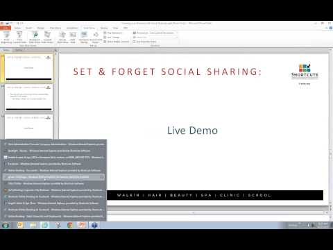 Shortcuts Software Webinars: Growing your Business with Social Sharing Video