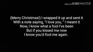 Gambar cover Wham! - Last Christmas   tekst