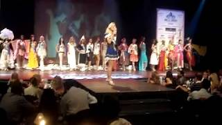 Miss Tourism Germany at Miss Tourism Planet 2008 at Hyatt Regency Casino in Thessaloniki, Greece