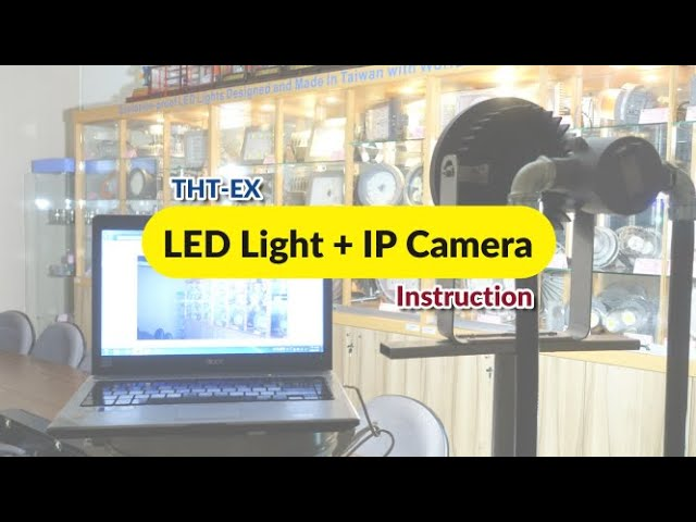 Explosion-proof LED Light with IP Camera (LED+CCTV)_Install Instruction