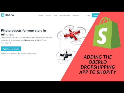 Shopify Tutorials: Adding The Oberlo Dropshipping App To Our Shopify Store