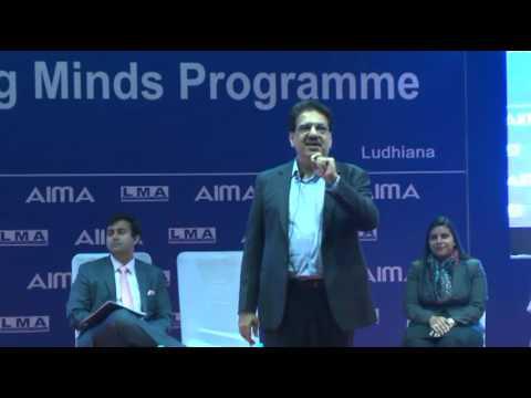 Shaping Young Minds Programme (Mr. Vineet Nayar Speech)