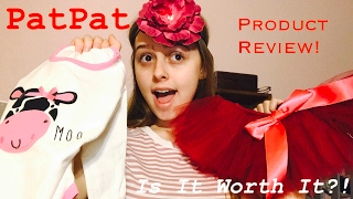 PATPAT BABY PRODUCT UNBOXING/REVIEW!
