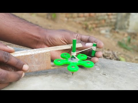 Make Spinning Toy and Launcher
