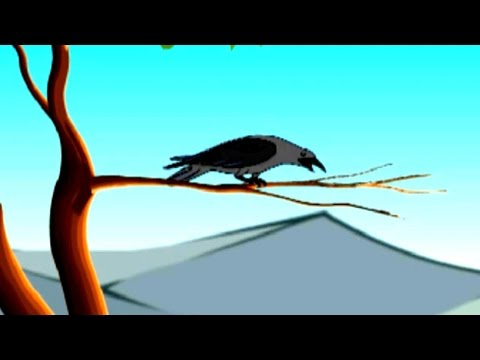 If I Meet A Crow Nursery Rhyme - Animated Songs for Children