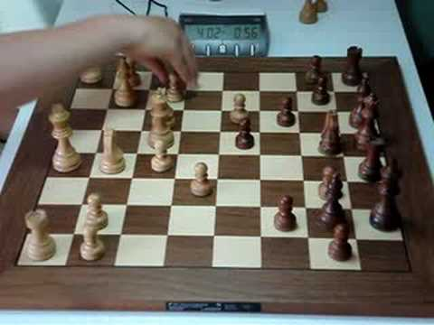 Blitz chess game - YouTube