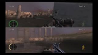 Medal of Honour European Assault PS2 Multiplayer Gameplay (2 of 4)