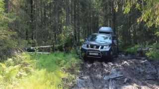 Nissan Pathfinder и Patrol offroad