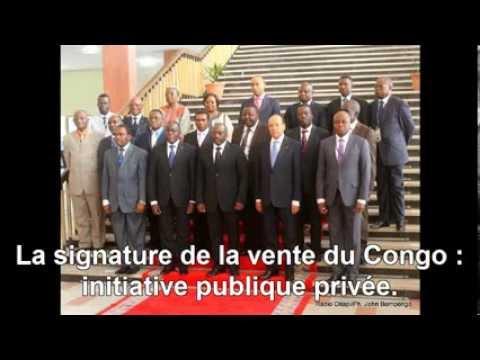 Jean-Pierre Mbelu : La signature de la vente du Congo : initiative publique privée.