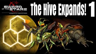 Let's Play Sword of the Stars Hiver Part 1 The Hive Expands! - Multiplayer Gameplay