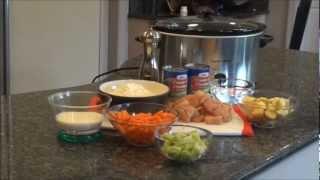 Crock Pot Chicken & Dumplings