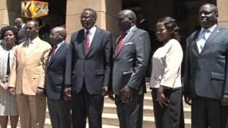 Mwenyekiti na makamishna wapya wa IEBC waapishwa