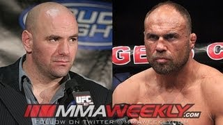 Randy Couture Can't Buy a Ticket, but the UFC is Ryan Couture's House -- Dana White
