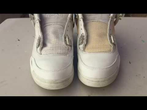 How To: Whiten Netting On Jordan 4's