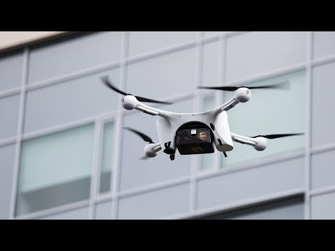 UPS makes first drone deliveries at NC's WakeMed hospitals