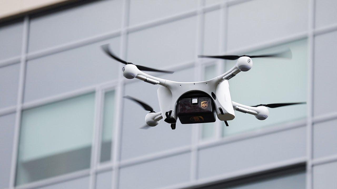UPS Pertama Secara Resmi Luncurkan Pengiriman Menggunakan Drone