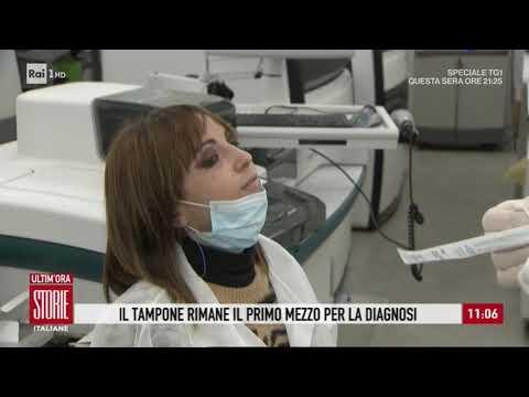 Coronavirus: 'Il tampone rimane il primo mezzo per la diagnosi' - Storie italiane 27/03/2020