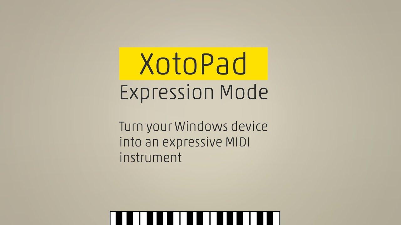 XotoPad FAQ and manual